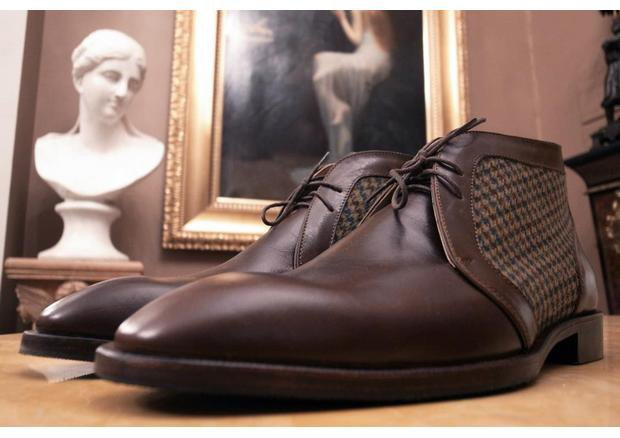 Московская марка «Мастерская 55» выпустила осеннюю коллекцию обуви. Изображение № 9.