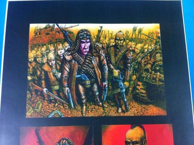 Опубликованы первые концепт-арты фильма «Безумный Макс: Дорога ярости». Изображение № 3.