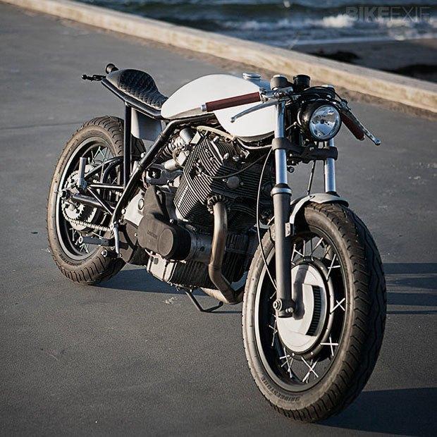 Мастерская Wrenchmonkees представила новый кастом на базе мотоцикла Laverda. Изображение № 2.