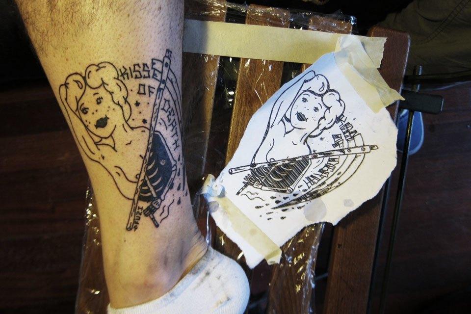 «Право носить на себе некоторые символы нужно заслужить»: Интервью с татуировщиком Фузи. Изображение № 6.