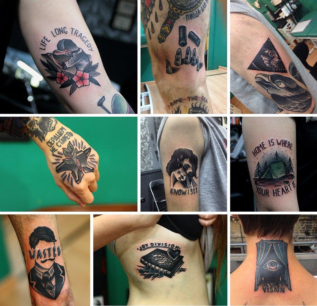 «Часто приезжают американцы и забивают целые рукава»: Интервью с татуировщиком Славой Кононовым. Изображение № 2.