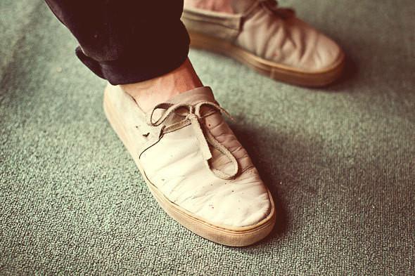 Фоторепортаж: 50 мужских кроссовок на выставке Faces & Laces. Изображение № 4.