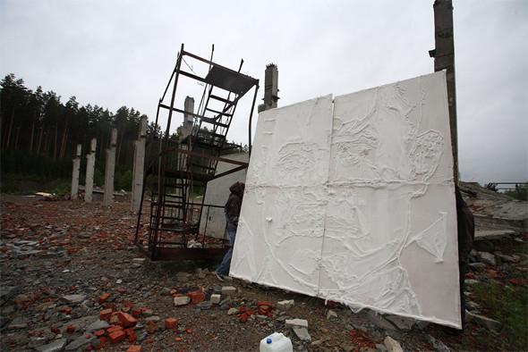 Скетчбук: Уличный художник Radya из Екатеринбурга рассказывает о пяти своих работах. Изображение № 20.