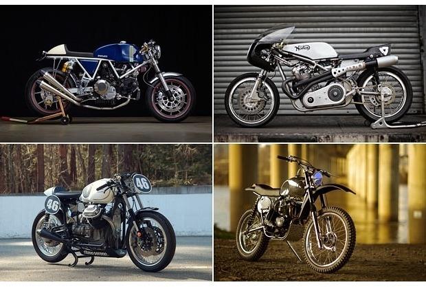 Сайт Bike EXIF выпустил календарь с кастомизированными мотоциклами. Изображение № 2.