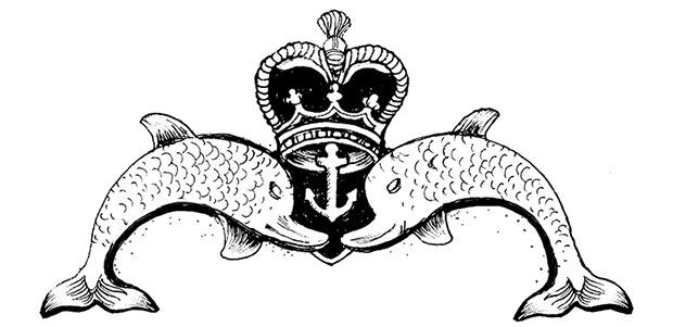 Дельфиний значок, выдающийся всем морякам-подводникам. Изображение № 4.