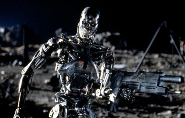 Кадр из фильма «Терминатор 2: Судный день» 1991 года. Изображение № 1.