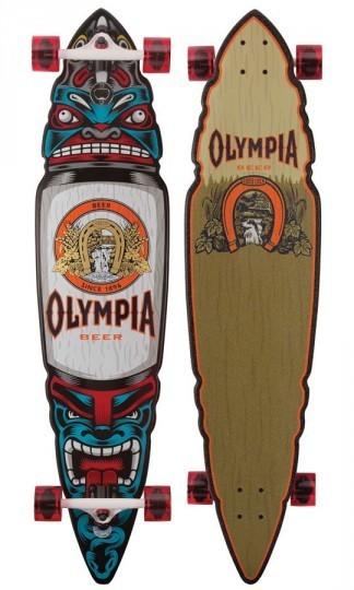 Коллекция лонгбордов с принтами пива Pabst. Изображение № 5.