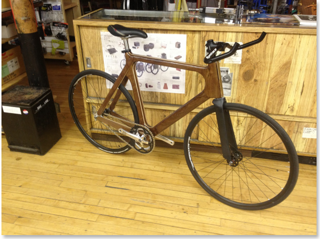 Ручная работа: Деревянный велосипед Джордана Хенкеля. Изображение № 1.