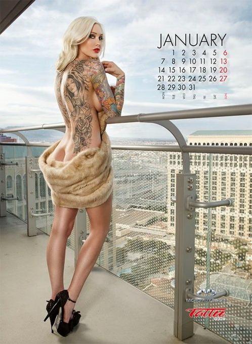 10 эротических календарей на 2013 год. Изображение № 121.