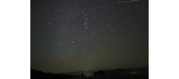 Метеор из потока Орионид. Поток наблюдается ежегодно в октябре. Изображение № 8.