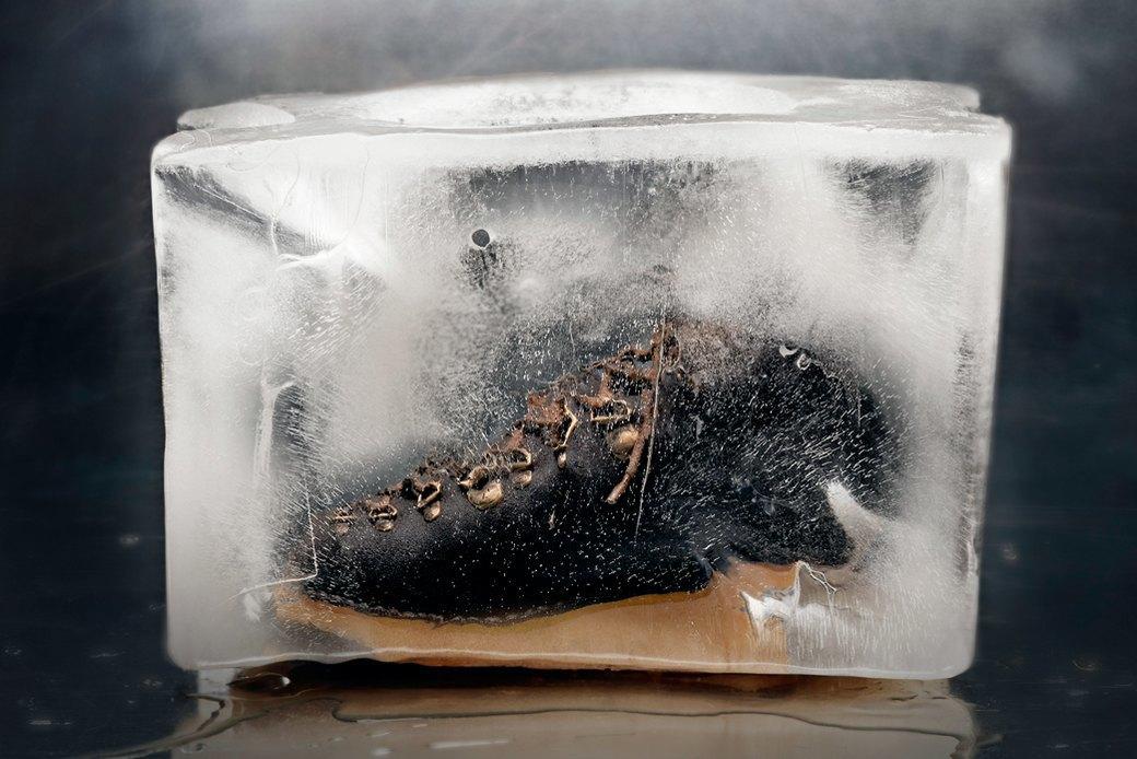 Тест-драйв зимних ботинок в кубах льда. Изображение № 1.