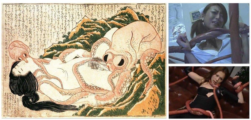 Щупальца, ящеры, мутанты и другие герои необычного японского порно. Изображение № 1.