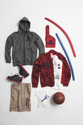 Марка Nike Sportswear выпустила весеннюю коллекцию баскетбольной одежды. Изображение № 3.