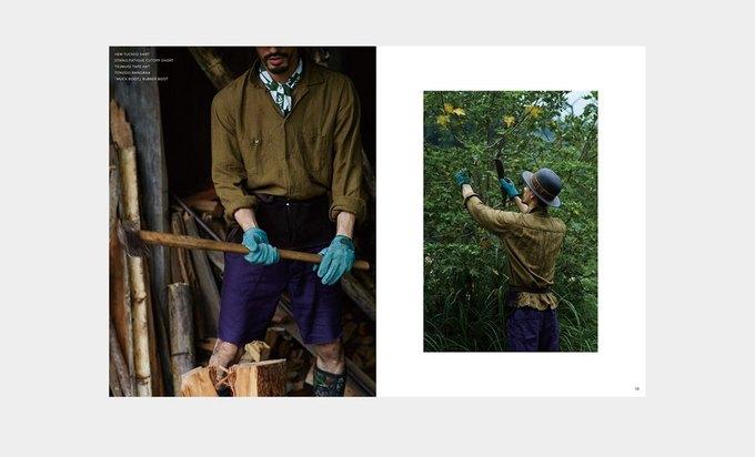 Марка Nepenthes опубликовала лукбук новой коллекции Needles. Изображение № 7.