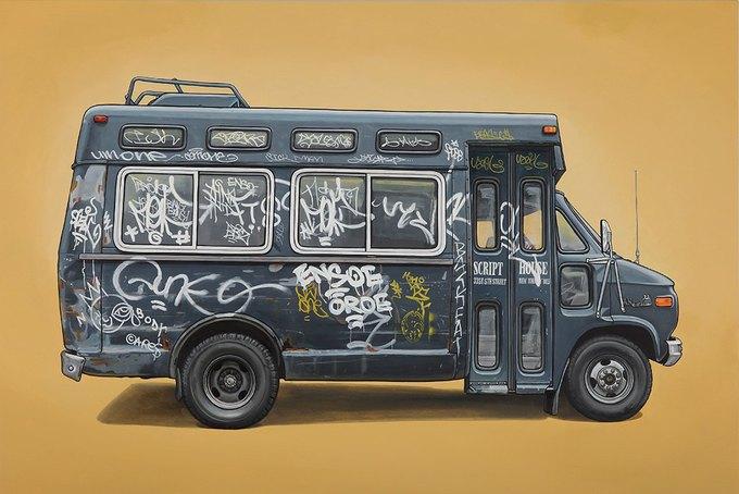 Кевин Сир: Граффити на фургонах как символ города. Изображение № 2.