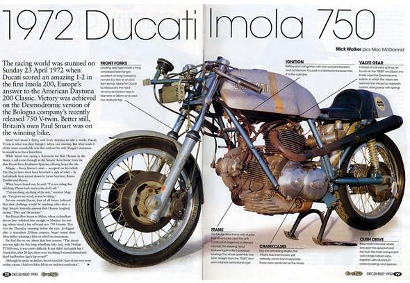 История мотоцикла Ducati 750 Imola. Изображение № 4.