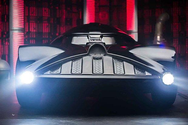 На Comic Con показали автомобиль Дарта Вейдера. Изображение № 2.