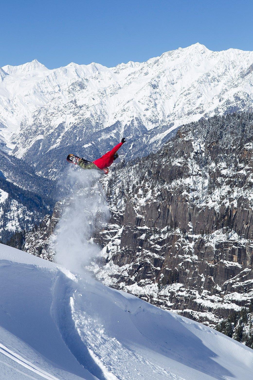 Фотопроект: 10 лет катания по самым экстремальным горам планеты . Изображение № 20.