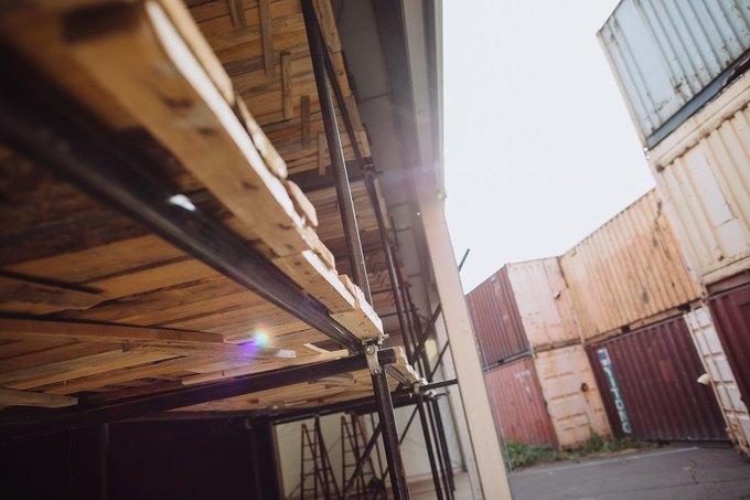 Фоторепортаж: Строительство объектов фестиваля Outline. Изображение № 45.