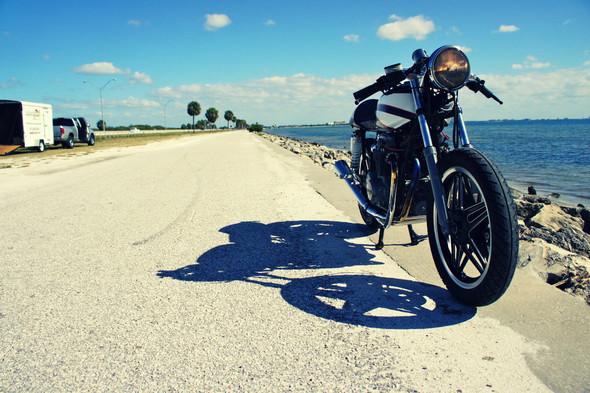 Мотоцикл Honda CB650 мастерской Steel Bent Customs. Изображение № 4.