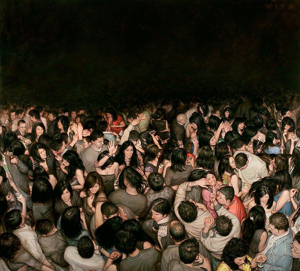 Эстетика мошпита: Хардкор-живопись, вдохновлённая Рубенсом и Босхом. Изображение № 12.