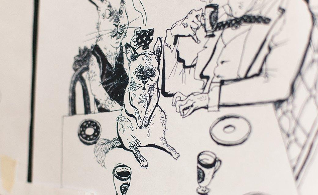 Дом культуры: Молодые московские художники и их мастерские. Изображение № 12.
