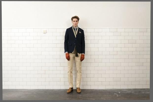 Марка Gant Rugger опубликовала второй лукбук осенней коллекции одежды. Изображение № 7.