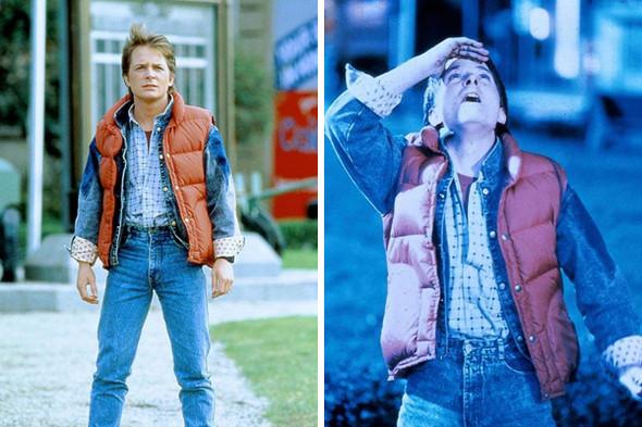 Майкл Дж. Фокс в роли Марти МакФлая. Кадр из фильма «Назад в будущее». Изображение № 13.