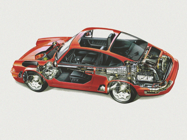 Новый Porsche 911 и эволюция его предшественников. Изображение №17.