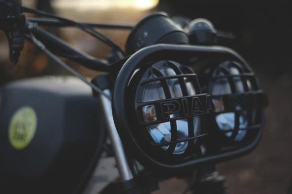 Новый проект испанской мастерской El Solitario —мотоцикл BMW R45. Изображение №2.