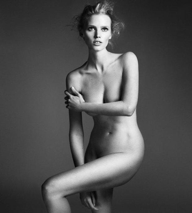 Аня Рубик, Наоми Кэмпбелл и другие известные модели разделись для Interview Magazine. Изображение № 8.