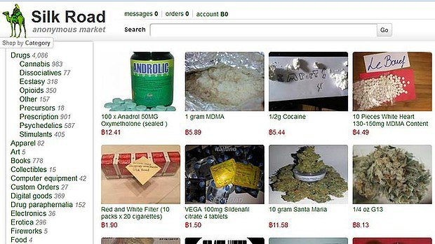 Теневой рынок в сети вырос после закрытия онлайн-магазина наркотиков Silk Road. Изображение № 1.