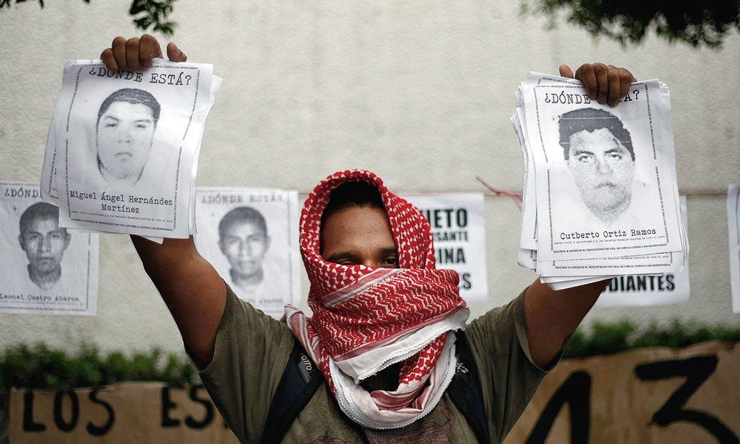 Мексика в огне: Студенты протестуют против коррумпированных чиновников и наркокартелей. Изображение № 1.