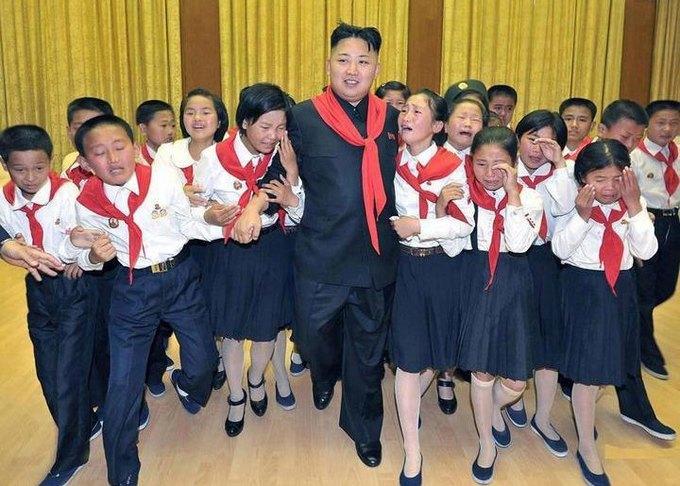 В детский лагерь в Северной Корее пригласили иностранцев. Изображение № 1.