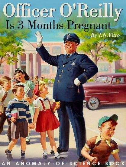 Иллюстратор Боб Стэйк создал пародии на обложки старых детских книжек   . Изображение № 1.