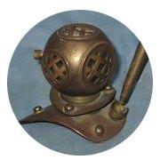 Находка недели: Винтажный водолазный шлем. Изображение № 6.