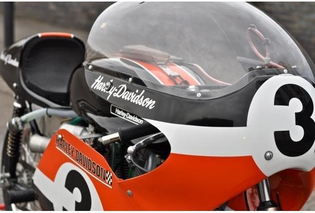 Мастерская британского дилера Warr's отреставрировала гоночный Harley-Davidson XRTT-750 . Изображение № 4.