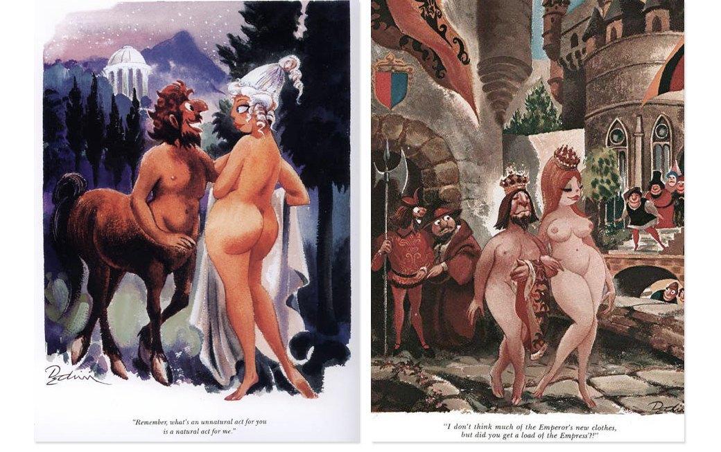 Эротические карикатуры из мужских журналов 1960-х годов. Изображение № 2.