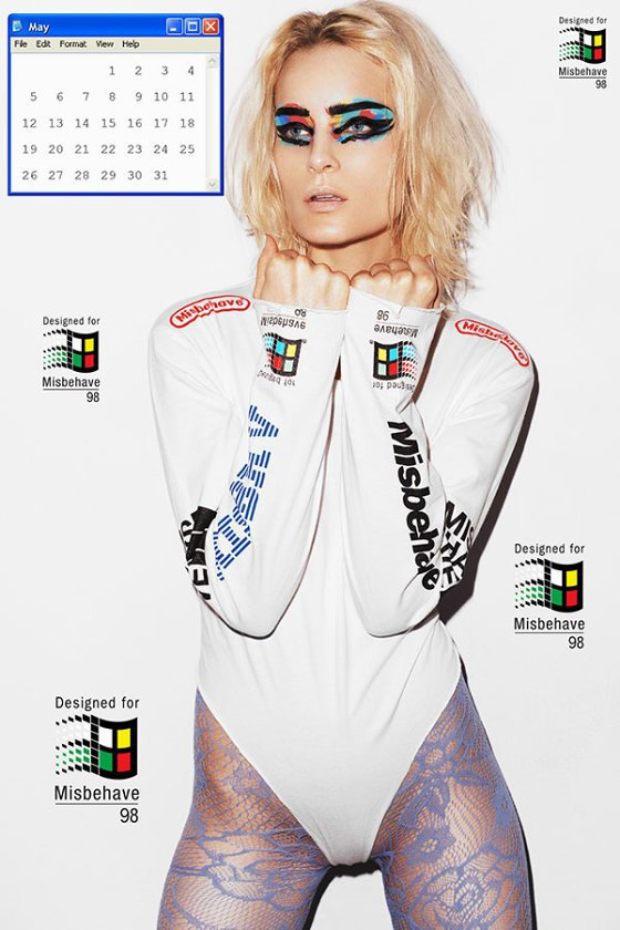 Польская модель Шарлотта Томас снялась для календаря MISBHV. Изображение № 6.