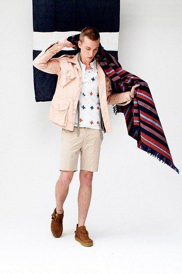 Японская марка Visvim опубликовала лукбук весенней коллекции одежды. Изображение № 13.