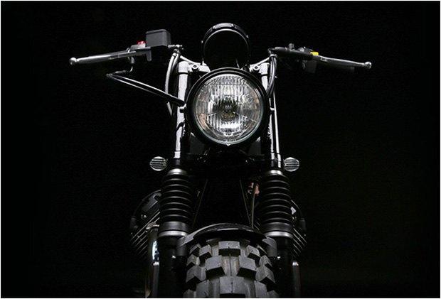 Стефан Вернье построил новый кастом на базе Moto Guzzi V7 Stone . Изображение № 7.