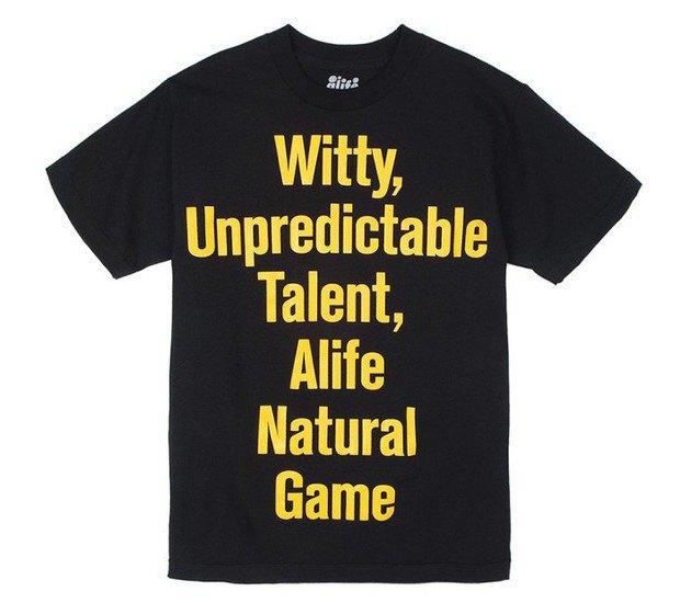 Американская марка Alife представила весеннюю коллекцию футболок. Изображение № 10.