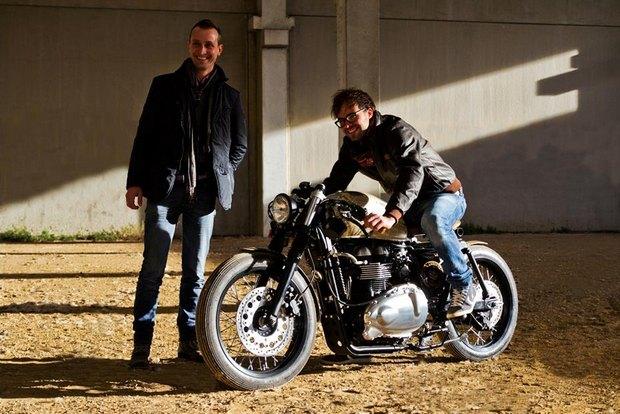 Итальянская мастерская Centro Modo Lodi представила «королевский» кастом модели Triumph Thruxton. Изображение № 8.