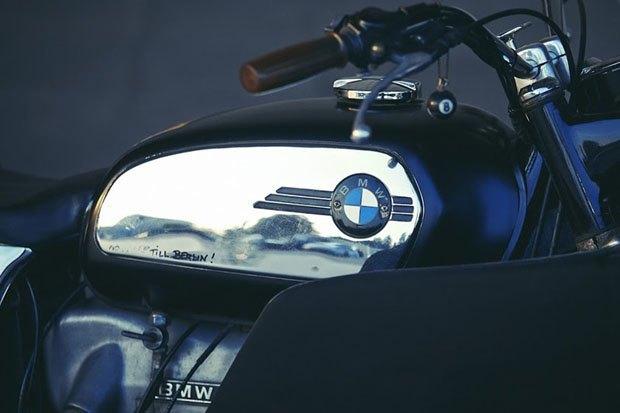 Себ Лоренц собрал новый байк на базе BMW R60/5. Изображение № 6.