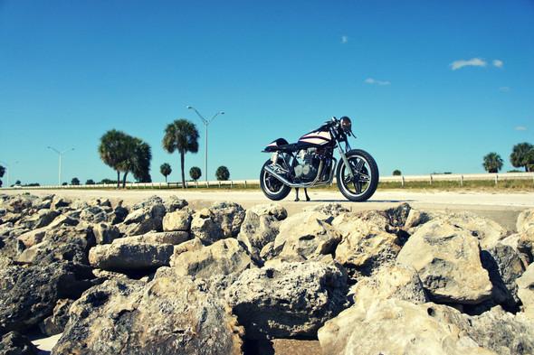 Мотоцикл Honda CB650 мастерской Steel Bent Customs. Изображение № 6.