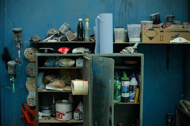 Фоторепортаж из мастерской New Old Shit. Изображение № 24.