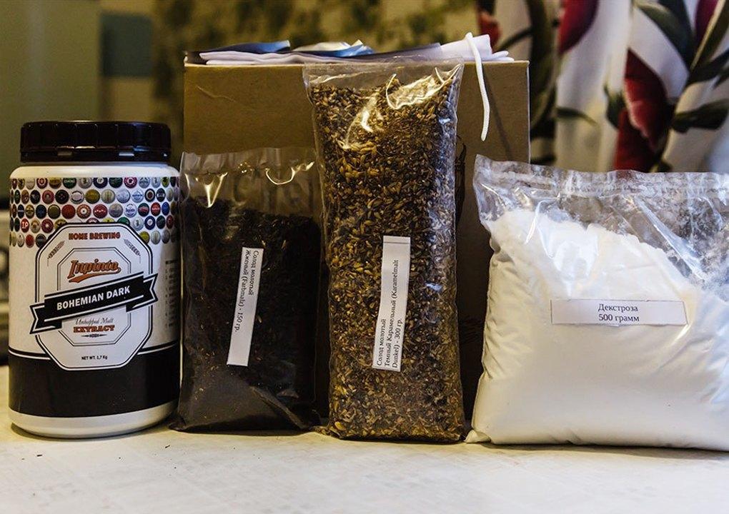Набор для домашнего пивоварения — неохмеленный пивной концентрат, солода, хмель, дрожжи, декстроза.. Изображение № 11.