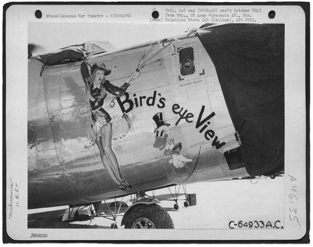 Рисунки на самолетах времен Второй мировой войны. Изображение № 9.