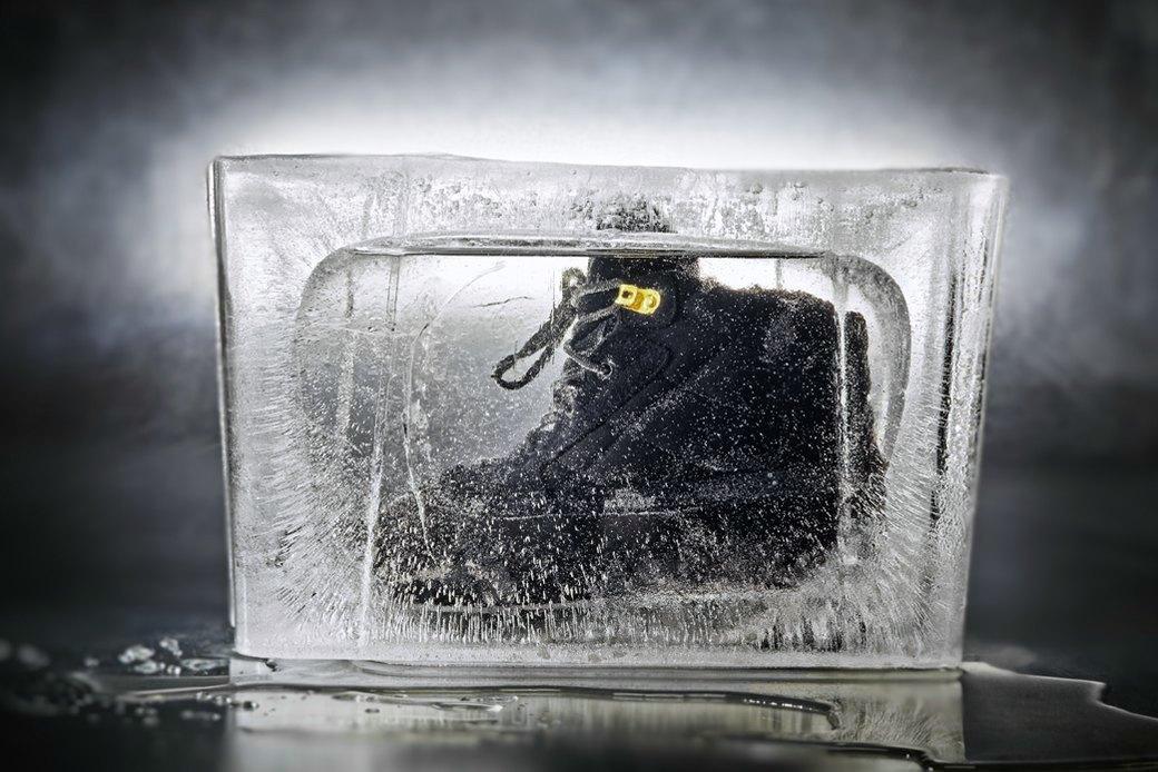 Тест-драйв зимних ботинок в кубах льда. Изображение № 3.