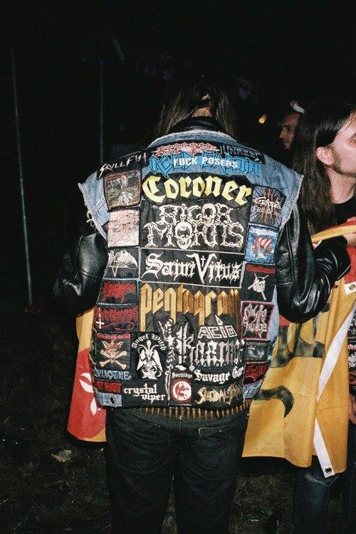 Battle Jackets: Tumblr-блог, посвящённый жилетам с нашивками. Изображение № 8.
